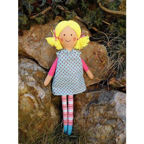 Látková panenka - vel. 36cm