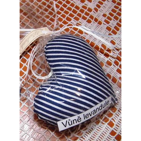 Vonné srdíčko - vůně levandule (proužek)