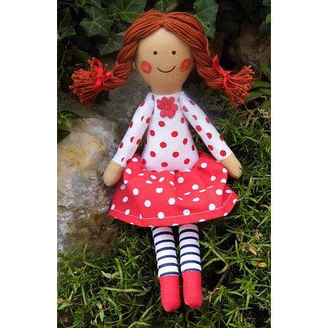 Látková panenka - vel. 25cm
