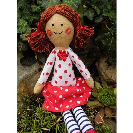 Látková panenka - vel.25cm