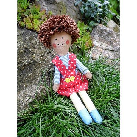 """Látková panenka """"kluk"""" - vel. 25 cm"""