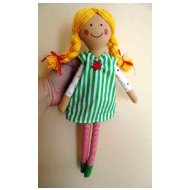 Ostatní zákazníci doporučují Látková panenka - vel. 36cm