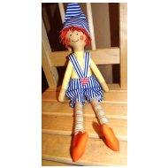 Látková panenka - Skřítek (vel.40cm)