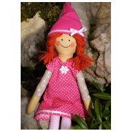 Ostatní zákazníci doporučují Látková panenka - Skřítek (vel.40cm)