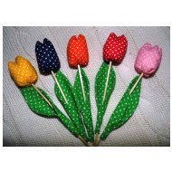 Sada tulipánů (5ks - vel. 17cm)